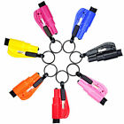 resqme Seatbelt Cutter Emergency Survival Window Glass Breaker KeyChain Tool
