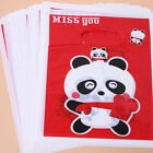 Wholesale Pattern Prints Plastic Carrier Bags Shopping Fit Gift Package Lots L