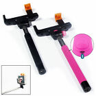 Wireless Monopod Selfie Stick Telescopic & Bluetooth Remote Mobile Phone Holder