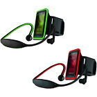 Hype Wireless Bluetooth 3.0 Headset Earbuds & Cell Phone Armband Holder Combo