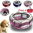 New Folding Fabric Pet Play Pen Puppy Dog Cat Rabbit Guinea Pig Playpen Run Cage