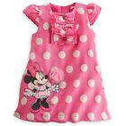 DISNEY STORE MINNIE MOUSE WOVEN POLKA DOT DRESS WITH MATCHING BLOOMERS FOR BABY