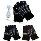 New 5V USB Powered Heating Heated Winter Hand Warmer Gloves Washable Reliable