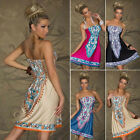 New Women Summer Dress Wrapped Chest Waist Dress Bohemian Casual 4 Size Reliable