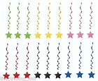 Pack 3 Hanging Star Party Decorations