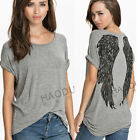 QUEEN COLLECTION PUNK 9522 WING LOVER SOFT TEE TOP