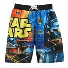 DARTH VADER STAR WARS Bathing Suit Swim Trunks Board Shorts Boys Size 6/7  $25