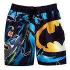 BATMAN DARK KNIGHT UV-50 Bathing Suit Swim Trunks NWT Boys Size 4, 5, 6 or 7 $24
