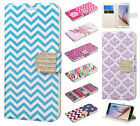 For Samsung Galaxy S6 Premium Leather Wallet Pouch Flip Phone Cover Accessory