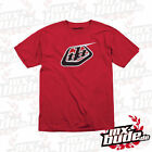 Troy Lee Designs T - Shirt T-Shirt Classic Logo Red Red MTB Style Trend Fashion