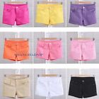 Women/Lady Candy Color Hot Pants Shorts Stretch Jean Sexy Denim Slim Low Waist