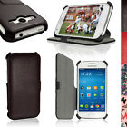 PU Leather Flip Case for Samsung Galaxy Ace 4 SM-GT357FZ Stand Book Folio Cover
