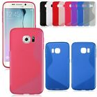 S Line Soft TPU Gel Back Case Cover for Samsung Galaxy S6 G9200 / S6 Edge G9250