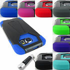 FOR SAMSUNG GALAXY S6 S 6 EDGE ACTIVE RUGGED T-STAND ARMOR CASE COVER+STYLUS/PEN