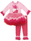 Rare Editions Girls Pink Birthday Outfit Sizes 12 or 16 Girls Pageant OOC
