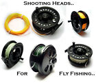 14yd Shooting Head Pre-Loaded on Fly Reel for Distance Casting in Trout Fishing