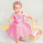 Baby Toddler Disney Princess Aurora Sleeping Beauty Fancy Dress Costume Outfit