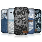 HEAD CASE DESIGNS JEANS AND LACES HARD BACK CASE FOR SAMSUNG GALAXY S DUOS S7562
