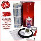 Electric Underfloor Undertile Heating Kit 150w  ALL Sizes 1-24m² Thermopads