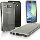 Glossy TPU Gel Case for Samsung Galaxy A3 SM-A300FU Skin Cover + Screen Prot