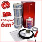 Electric Underfloor Undertile Heating Kit 200w 6m2 Thermopads FREE Delivery