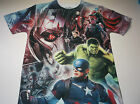 New Marvel Avengers shirt men's sizes small - 2XL all over print Marvel Avengers