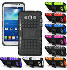 GRENADE GRIP RUGGED TPU SKIN HARD CASE COVER STAND FOR SAMSUNG GALAXY GRAND MAX