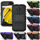 RUGGED GRENADE SKIN HARD CASE COVER STAND FOR MOTOROLA MOTO E LTE 2015 2ND GEN