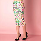 Womens Glamorous Tropical Print Skirt In FloralStylish Womenswear, Discounted