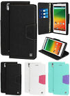 NEW INFOLIO WALLET CREDIT CARD ID CASH CASE COVER STAND FOR ZTE ZMAX Z970 PHONE