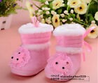 Baby boy gril Toddlers lace cat Girls Winter Boots Shoes Winter keep Warm free