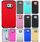 Samsung Galaxy S6 EDGE Astronoot HARD Hybrid Rubber Silicone Case + Screen Guard