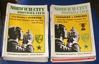 NORWICH CITY HOME PROGRAMMES 1972-1973