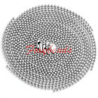 """LOT 2MM Silver Stainless Steel Ball Beads Chain Necklace 19""""-26""""L Jewelry DIY"""