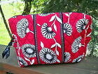 VERA BRADLEY Large Cosmetic Bag Case NEW Variety of Patterns FREE SHIPPING