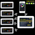 WiFi Wireless IOS Android Phone MiLight Controller for 5050 RGBW led strip light