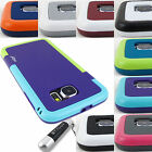 FOR SAMSUNG GALAXY S6 S 6 HYBRID SPORT GRIP SHOCK PROOF CASE COVER+STYLUS/PEN