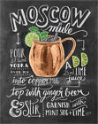 Poster / Leinwandbild Moscow Mule - Lily & Val