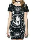 JAWBREAKER ILLUMINATI GOTHIC DRESS ROCK SHIRT TUNIC ROCKABILLY GOTH PUNK DRA2477