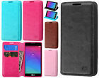 For LG Leon C40 Premium Wallet Case Pouch Flap STAND Cover Accessory