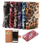Luxury Leopard Pattern Flip PU Leather Wallet Case Cover For iPhone 6S 4.7'' NEW