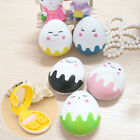 Travel Kit Cute Egg Shape Cartoon Storage Contact Lens Case Box Container Holder