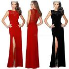 Women Sexy Prom Bridesmaid Evening Formal Party Gown Lace Long Dresses DJNG