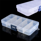 Portable Tool Storage Case Box 10 Compartment Slots Nail Craft Jewelry Organizer