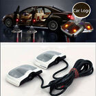2Pcs 6th Gen Projector Laser LED Door Step Shadow Logo Light For Cars US TB1