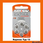 Rayovac Advanced Typ 13 HÖRGERÄTE BATTERIE PR48 Orange