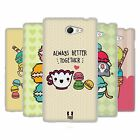 HEAD CASE KAWAII MACARON COVER MORBIDA IN GEL PER SONY XPERIA M2