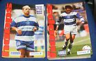 QUEENS PARK RANGERS CITY HOME PROGRAMMES 1996-1997