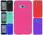 For Nokia Lumia 640 Rugged Rubber SILICONE Soft Gel Skin Case Cover Accessory