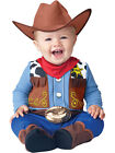 Wee Wrangler Baby Babygrow Wild West Cowboy Outfit Toddler Fancy Dress Costume